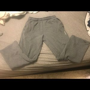 Men's Reebok Dark Grey Sweatpants